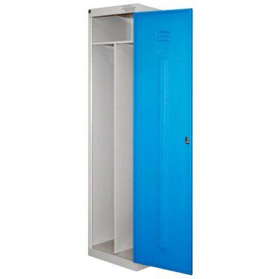 Металлический шкаф для одежды эконом класса